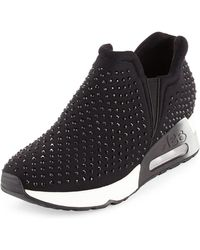 Ash - Lifting Crystal Slip-on Sneakers - Lyst