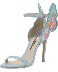 Sophia Webster - Chiara Embroidered Butterfly Sandals - Lyst