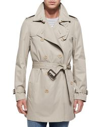 Burberry Brit - Kensington Double-breasted Trenchcoat - Lyst