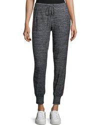 Velvet | Marled Jersey Jogger Pants | Lyst
