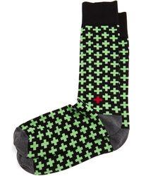 Jonathan Adler - Crisscross Socks - Lyst