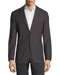 Theory - Simons Wool-blend Jacket - Lyst