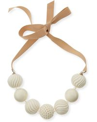 Marina Rinaldi - Leva Beaded Necklace - Lyst