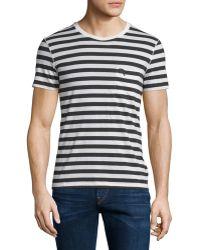 Burberry Brit - Drew Striped Short-sleeve T-shirt - Lyst