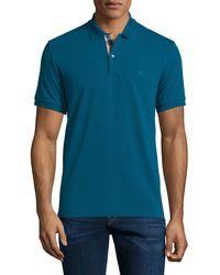 Burberry Brit - Short-sleeve Pique Polo Shirt - Lyst
