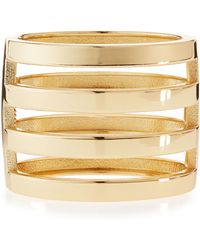R.j. Graziano - Cage Cuff Bracelet - Lyst