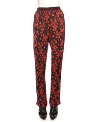 Givenchy | Floral-print Pajama Pants | Lyst