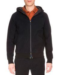 Berluti - Zip-up Hooded Sweatshirt - Lyst