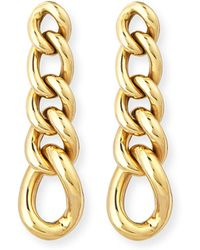 Rina Limor - New Essentials 18k Curb Chain Earrings - Lyst