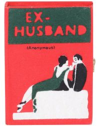 Olympia Le-Tan - Ex Husband Small Book Clutch Bag - Lyst