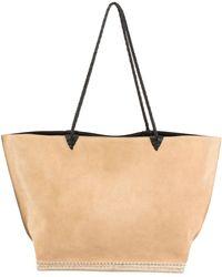 Altuzarra - Espadrille Large Suede Shoulder Tote Bag - Lyst