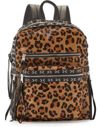 Ash - Billy Leopard-print Laced Backpack - Lyst