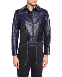 Creatures of the Wind - Laminated Boucle Round-pocket Jacket - Lyst