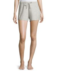 Neiman Marcus - Cashmere Drawstring Lounge Shorts - Lyst