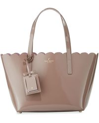 Kate Spade - Lily Avenue Small Patent Tote Bag - Lyst