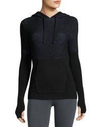 Blanc and Noir - Halfback Performance Hoodie Pullover - Lyst