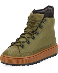PUMA - The Ren Leather Hiking Boot - Lyst