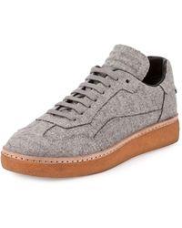 Alexander Wang - Eden Felt Low-top Sneaker - Lyst