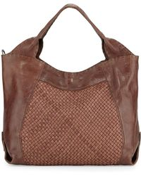 Henry Beguelin - Beverly Woven Double-handle Tote Bag - Lyst