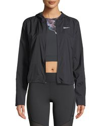 Nike - Shield Convertible Running Jacket - Lyst