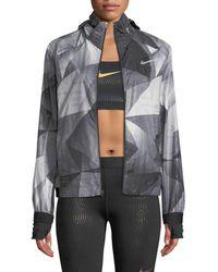 6cc4ce829895 Nike - Shield Flash Convertible Running Jacket - Lyst