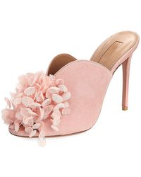 Aquazzura - Lily Of The Valley Mule - Lyst