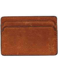 Frye | Oliver Leather Id Card Case | Lyst