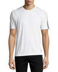 Z Zegna - Techmerino Jersey Short-sleeve Shirt - Lyst