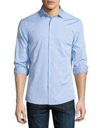 Michael Kors - Slim-fit Long-sleeve Oxford Shirt - Lyst