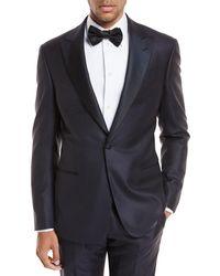 Giorgio Armani - Peak-lapel Jacquard Slim Tuxedo - Lyst