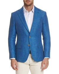3e2eb7fc8bc2a Robert Graham Albert Bridge Camo-print Sport Coat in Blue for Men - Lyst
