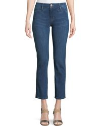 M.i.h Jeans - Paris Stagger-hem Skinny Jeans - Lyst