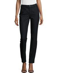 Lafayette 148 New York - Thompson Yarn-dyed Denim Slim-leg Jeans - Lyst