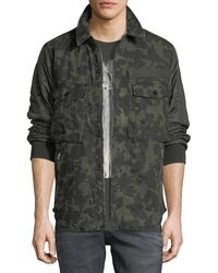 G-Star RAW - Type C Camouflage-print Over-shirt Jacket - Lyst