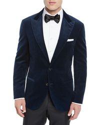 aa6451e0fd7 Brunello Cucinelli Flamed Wool-blend Sport Coat in Brown for Men - Lyst