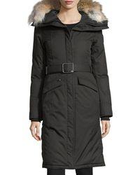 Nobis - Morgan Fur-trim Parka Coat - Lyst