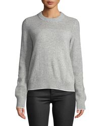 Rag & Bone - Yorke Cashmere Crewneck Sweater With Mesh Details - Lyst