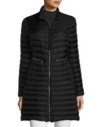 Moncler - Agatelon Zip-front Quilted Puffer Coat - Lyst