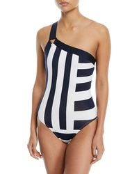 Mei L'ange - Victoria One-shoulder One-piece Swimsuit - Lyst