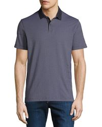 Theory - Men's Sillar Jacquard Standard Polo Shirt - Lyst