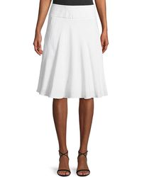 NIC+ZOE - Summer Fling Linen-blend Skirt - Lyst