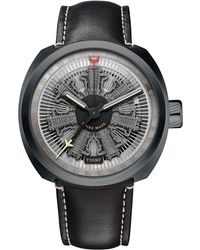 Tockr Watches - Radial C47c Leather Watch - Lyst