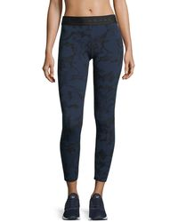 Koral Activewear - Knockout Cropped Athletic Leggings - Lyst