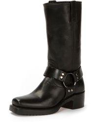 Frye - Heirloom Harness Tall Crinkled Boot - Lyst