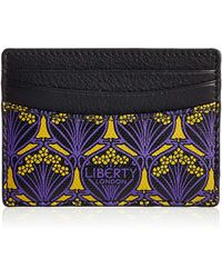 Liberty - Iphis-print Card Case - Lyst