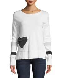 Lisa Todd | Heartthrob Cotton-cashmere Sweater | Lyst