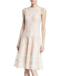 Jonathan Simkhai - Embroidered Cutout Dress - Lyst