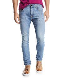 Etro - Paisley Degrade Jeans - Lyst