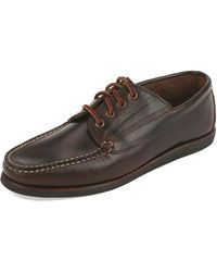 Eastland - Falmouth Usa Leather Lace-up Moccasin - Lyst