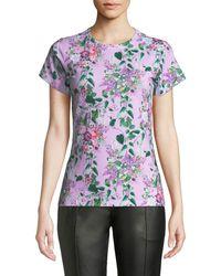 Libertine - Hamish Floral Short-sleeve T-shirt - Lyst